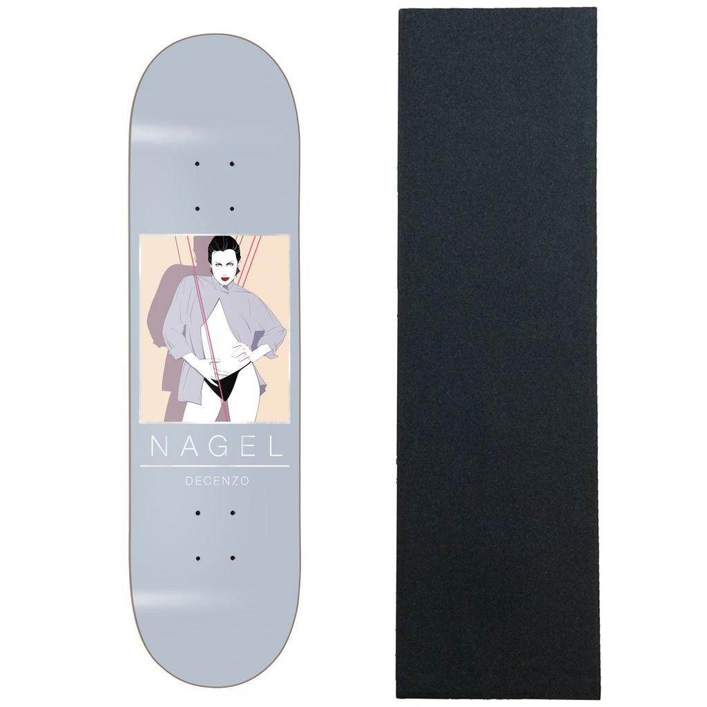 "Darkstar Skateboard Deck Nagel Decenzo 8.25/"""