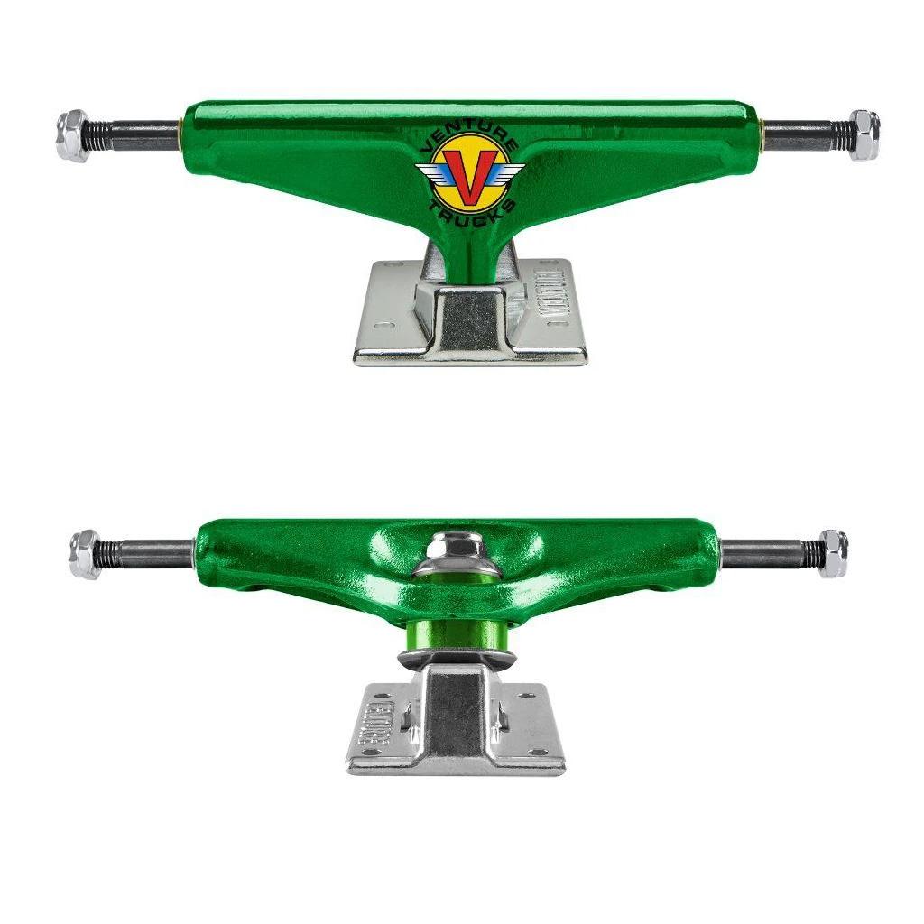 Venture Skateboard Trucks Wings V-Light Hi Green 5.2 (8.0 ...