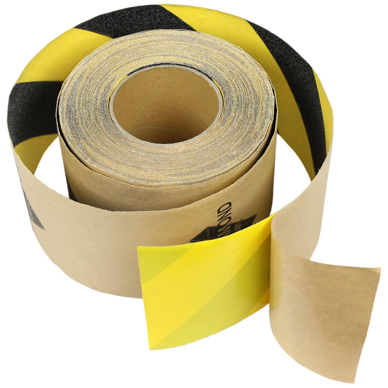 "2/"" x 20/' CLEAR Roll Safety Non Skid Tape Anti Slip Tape Sticker Grip Safe Grit"
