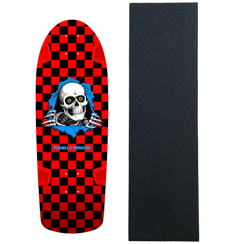 Red Reissue skate snow surf Powell Peralta Skateboard Sticker Animal Chin