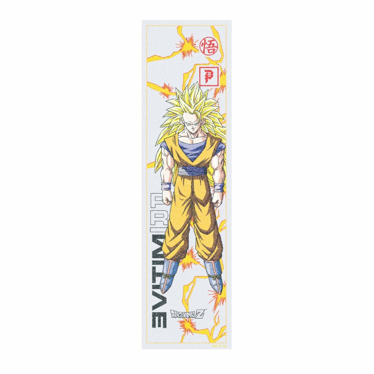 Details about Primitive Dragon Ball Z Goku Glow Skateboard Griptape 9