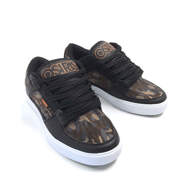 OSIRIS 12932618 PROTOCOL Mn´s Grey//Charcoal//Black Synthetic  Skate Shoes M