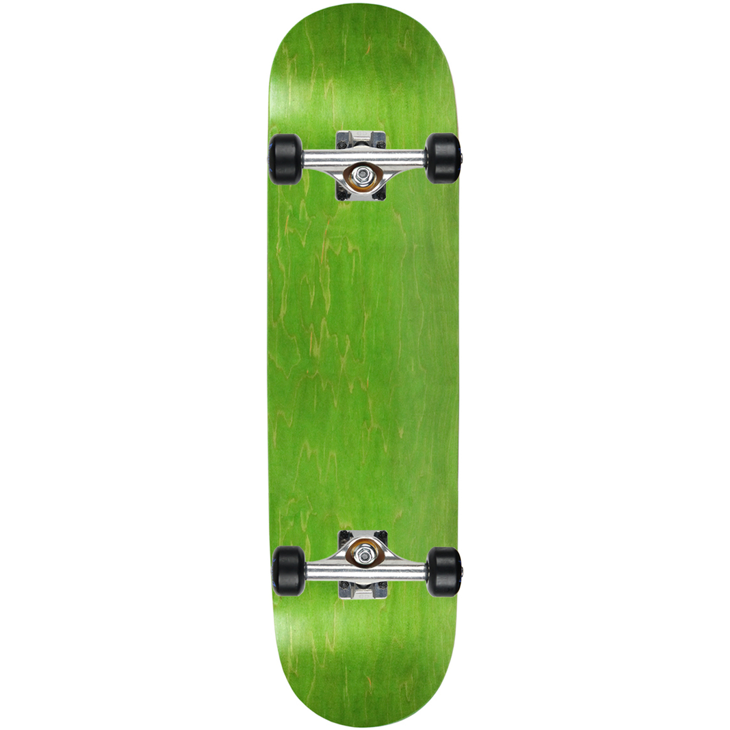 """Moose Complete Skateboard STAINED BLUE 7.75/"""" Black//White ASSEMBLED"""