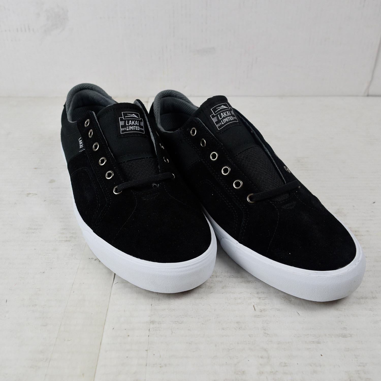 Lakai Skateboard Shoes Flaco Black Suede