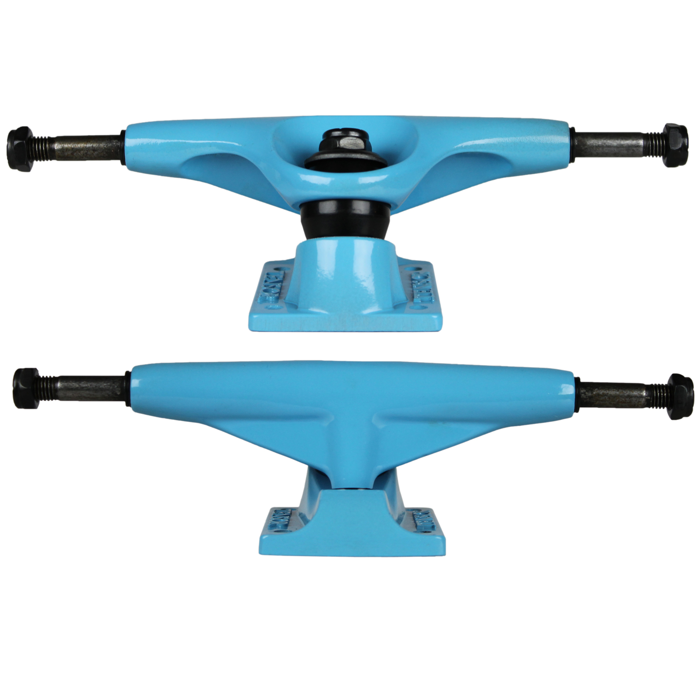 TENSOR Skateboard Trucks ALUMINUM BLUE 5.25 (Pair) 7.87 ...