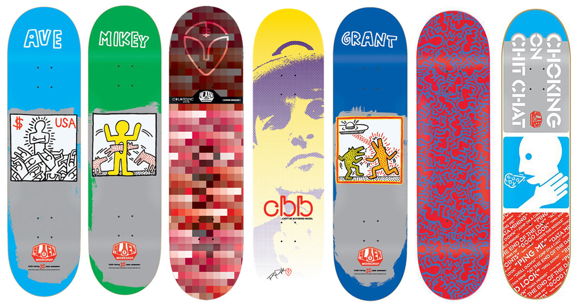 Alien Workshop Skateboard Bulk Deck Lot 7 Signature Pro