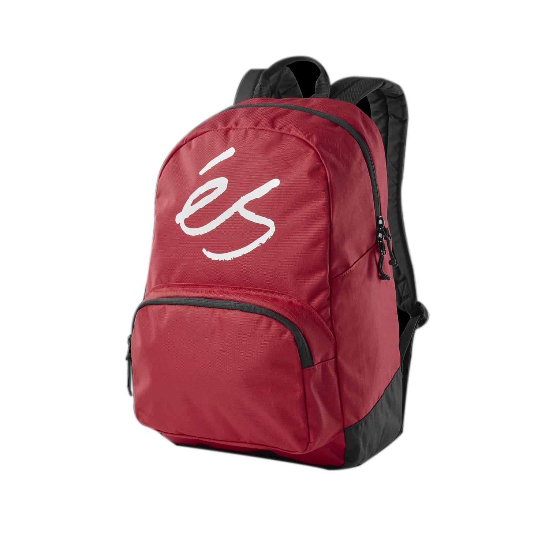 Es Skateboard Backpack Dome Red   eBay