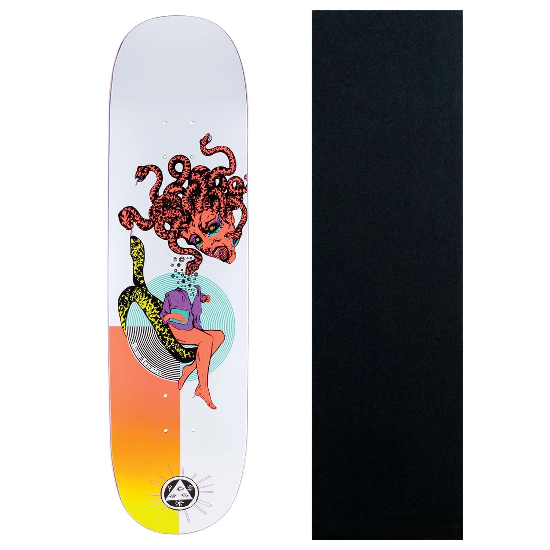 GRIPTAPE 5 BLANK Skateboard DECKS Black /& White 8.5 in